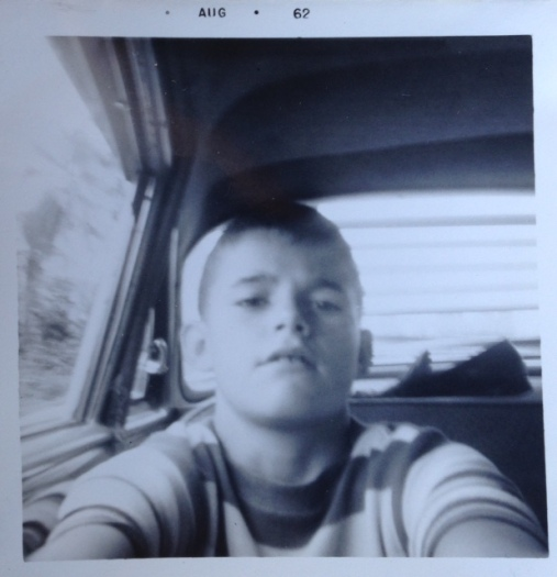 1962 selfie age almost 13